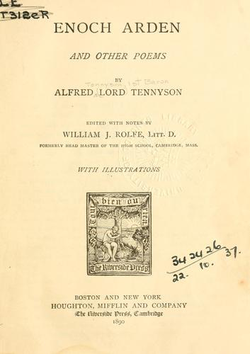 Download Enoch Arden, and other poems.