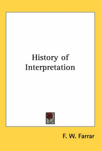 Download History of Interpretation