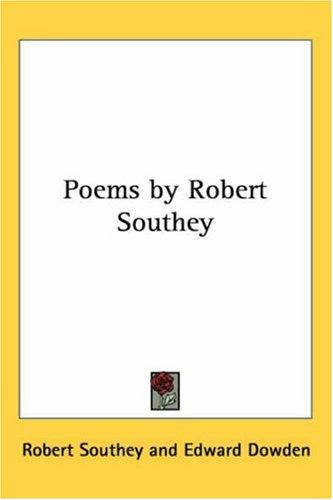 Download Poems By Robert Southey