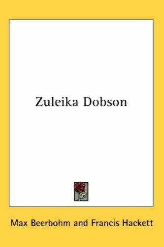 Download Zuleika Dobson