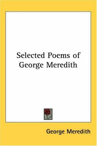 Download Selected Poems of George Meredith