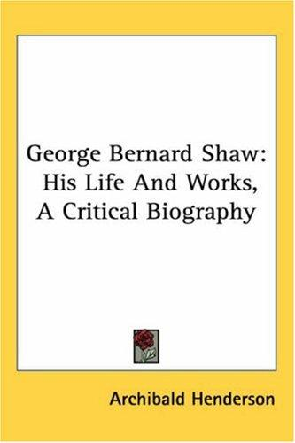 Download George Bernard Shaw
