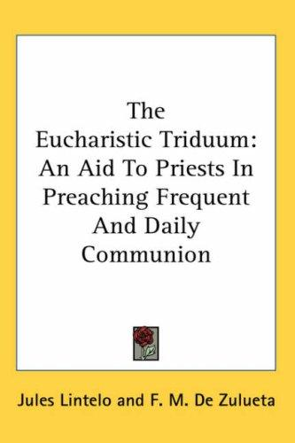 Download The Eucharistic Triduum
