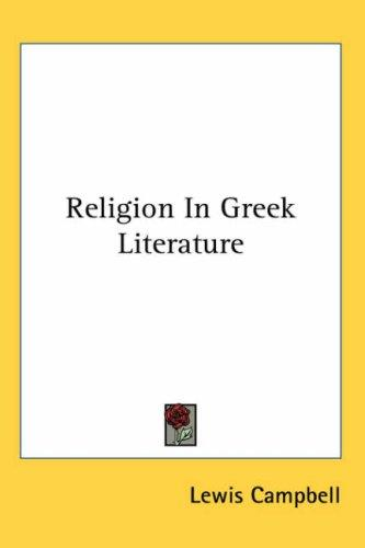 Religion in Greek Literature