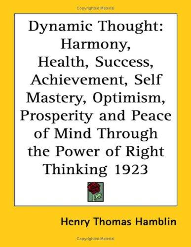 Download Dynamic Thought