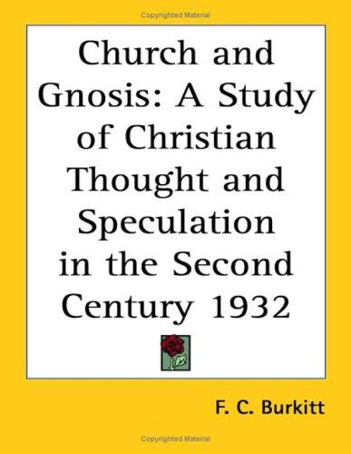 Church and Gnosis