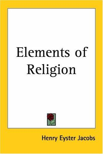 Download Elements of Religion