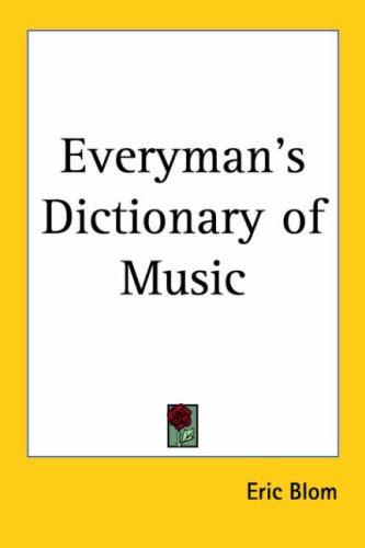 Everyman's Dictionary of Music
