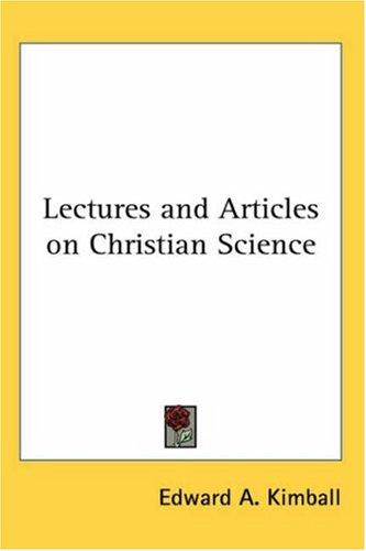 Download Lectures and Articles on Christian Science
