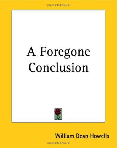Download A Foregone Conclusion