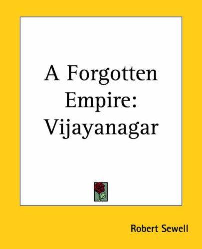 Download A Forgotten Empire Vijayanagar