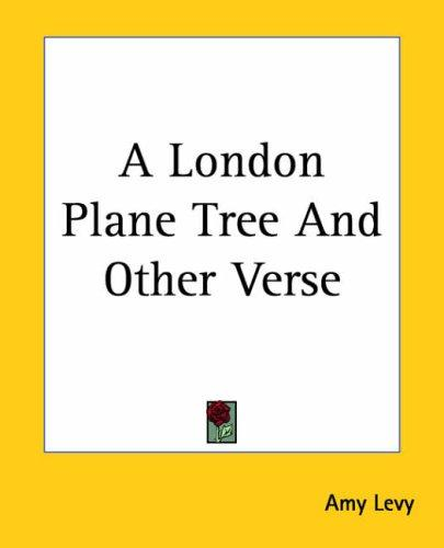 Download A London Plane Tree And Other Verse