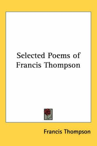 Download Selected Poems of Francis Thompson