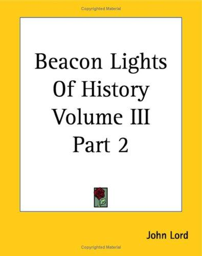Download Beacon Lights Of History