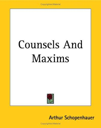 Download Counsels And Maxims