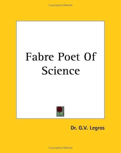 Download Fabre Poet Of Science