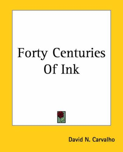 Download Forty Centuries Of Ink