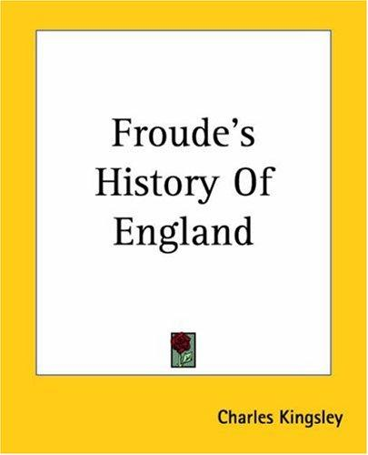 Download Froude's History Of England
