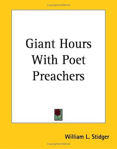 Download Giant Hours With Poet Preachers