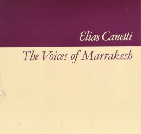 Download The voices of Marrakesh