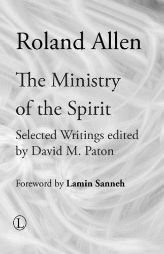 Download The Ministry of the Spirit