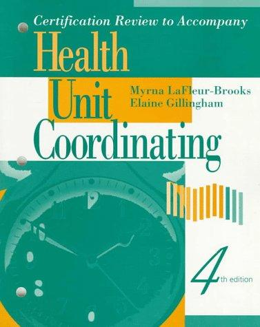 Certification review for health unit coordinators