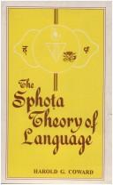 Download Sphota Theory of Language