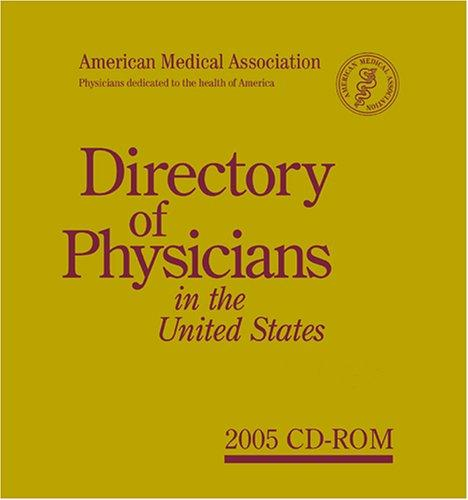 Download Directory of Physicians in the United States 2005