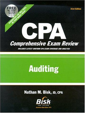 Download CPA Comprehensive Exam Review, 2002-2003