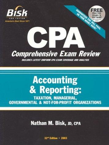 Download CPA Comprehensive Exam Review, 2003