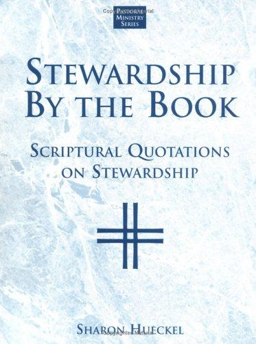 Stewardship by the Book