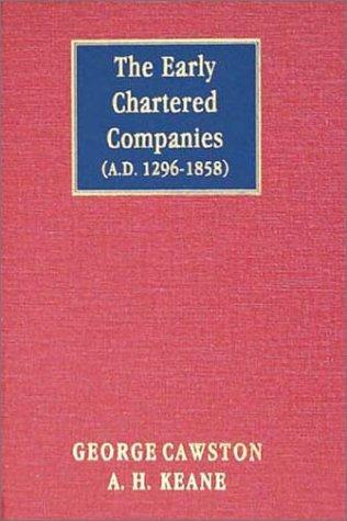 Download The Early Chartered Companies