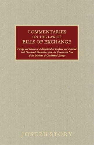 Download Commentaries on the Law of Bills of Exchange