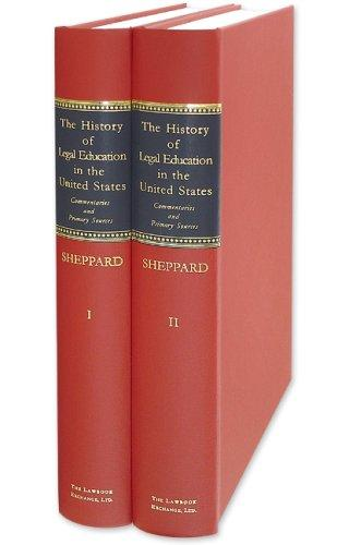Download The History of Legal Education in the United States