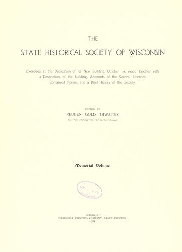 Download The State historical society of Wisconsin