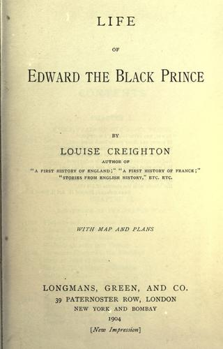 Download Life of Edward the Black Prince.