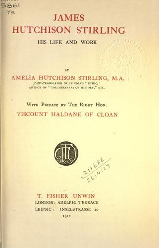 James Hutchison Stirling