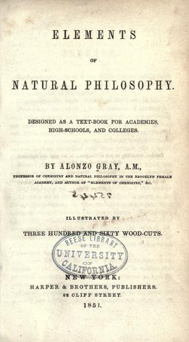 Download Elements of natural philosophy …