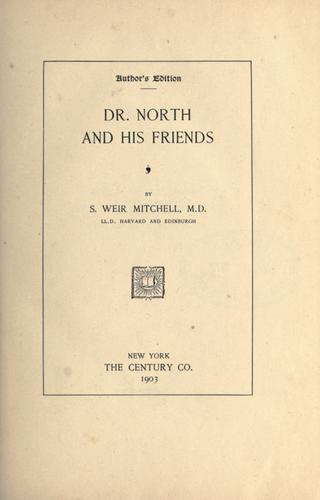 Dr. North and his friends.