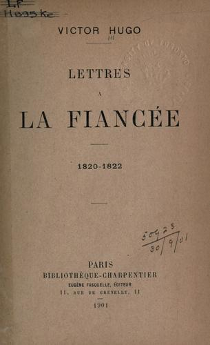 Download Lettres ©Ła la fianc©Øee, 1820-1822