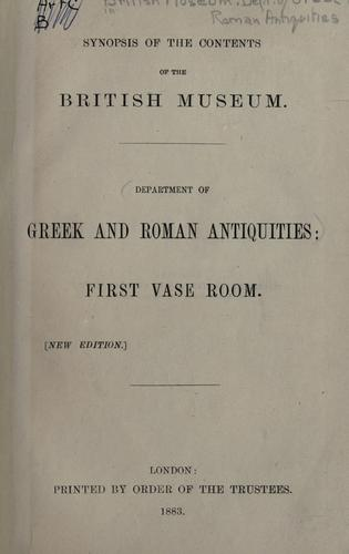 Download Synopsis of the contents of the British Museum.