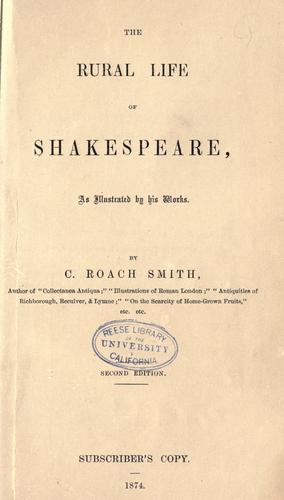Download The rural life of Shakespeare