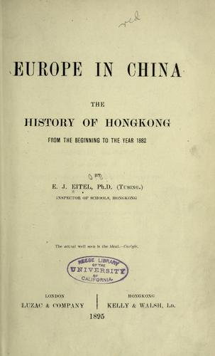 Download Europe in China