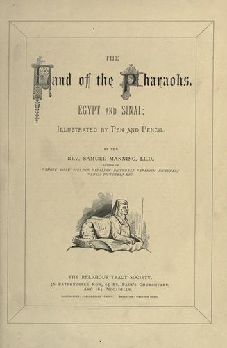 The land of the Pharaohs