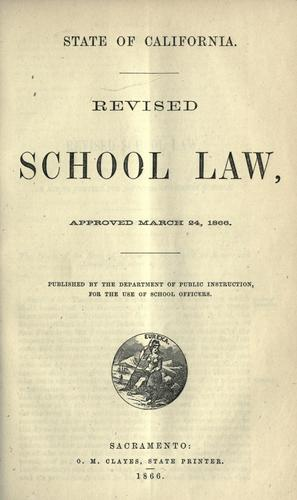 Download Revised school law