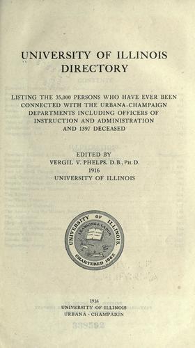 University of Illinois directory