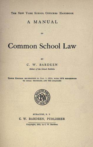 Download The New York school officers handbook