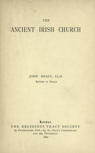 Ancient Irish Church