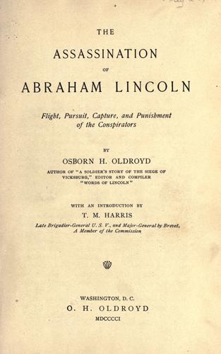 Download The assassination of Abraham Lincoln