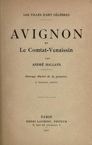 Download Avignon et le Comtat-Venaissin